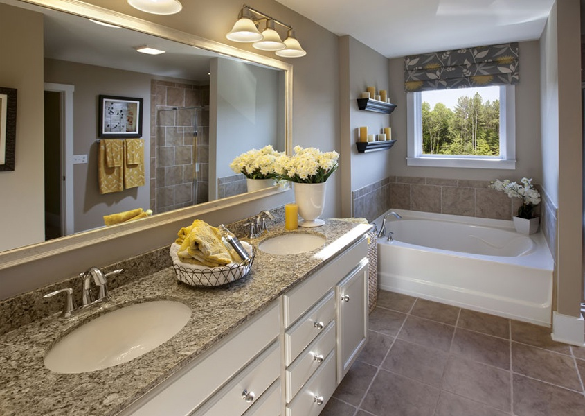 Accessorizing small spaces add the finishing touch to - Bathroom renovation order of trades ...
