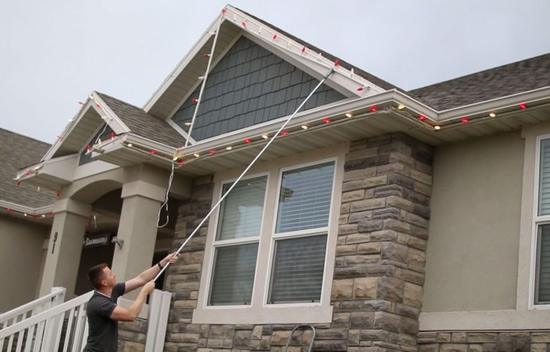 Hanging Decoration Of The Roof Without Damaging It