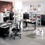 Create A Home Office With Modern Furniture For A Pleasant Work Space