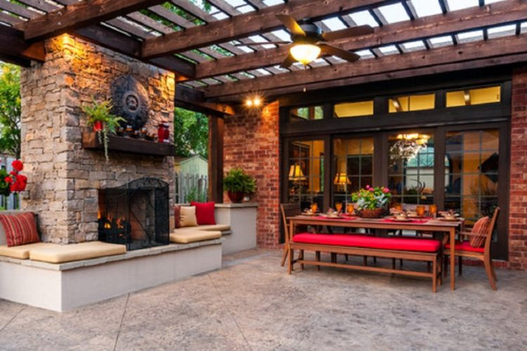Outdoor fans a new fan in town furniture door blog for Patios decorados